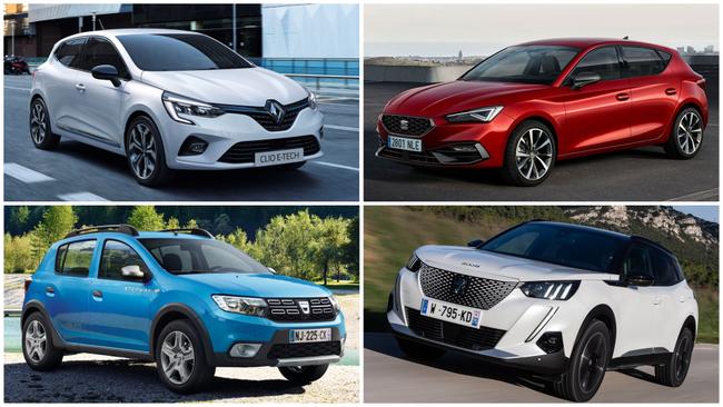 Los 10 coches más vendidos en julio en España