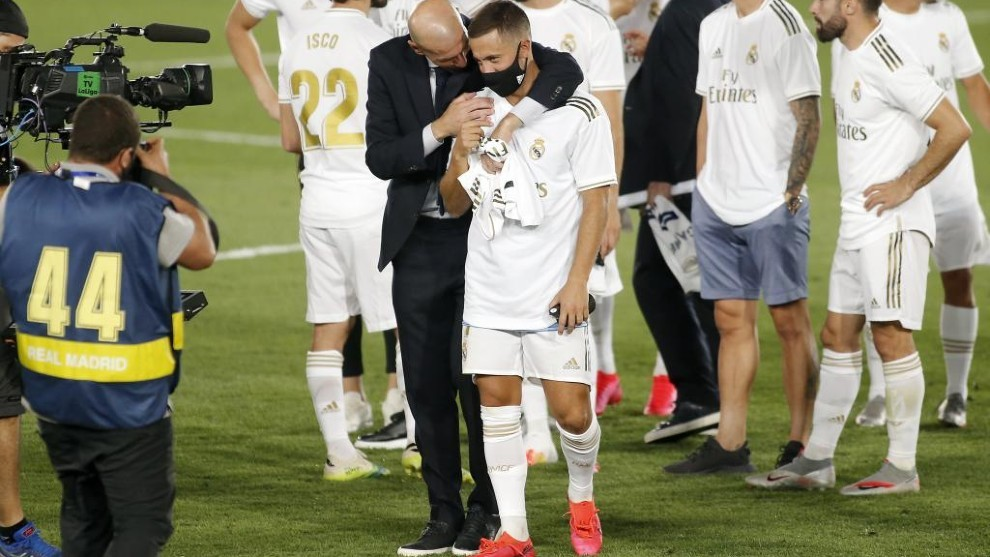 Hazard: I would like to score a goal like Zidane's against Bayer Leverkusen