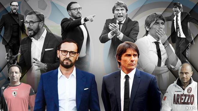 José Bordalás (56) y Antonio Conte (51) se verán las caras este...