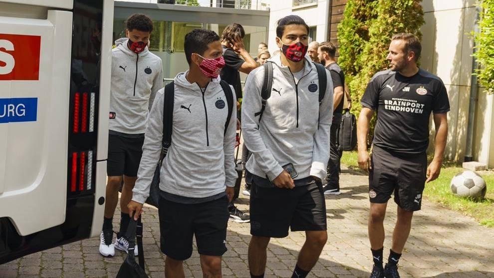Érick Gutiérrez y PSV viajan a Alemania para realizar la pretemporada de cara a la siguiente temporada de la Eredivisie