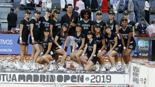 Djokovic, con el trofeo de la última edición