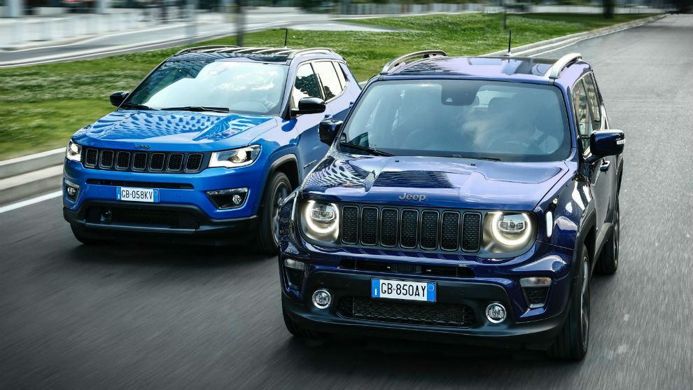 Los Jeep Compass y Renegade 4xe.