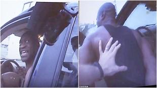 """La 'body cam' de un policía saca a la luz las últimas súplicas de George Floyd: """"No me dispares, hombre"""""""