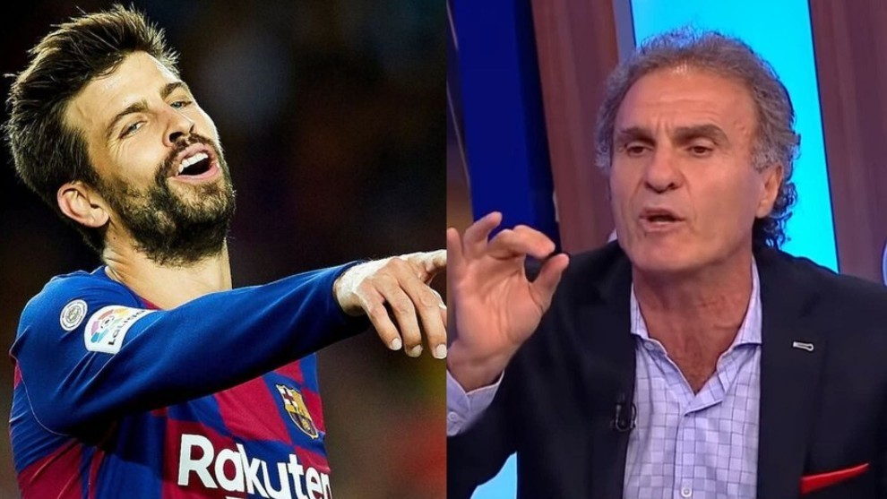 Ruggeri: Pique is bang average, Ramos is the best centre-back in the world by far