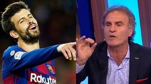 """""""Piqué es un jugador medio pelo, es normalito"""""""
