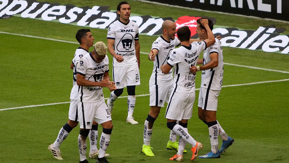 Pumas vs Atlas en vivo por internet.