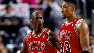 """""""Había algo en lo que Pippen superaba a Jordan: el tamaño del equipo de abajo.... Eso le mató"""""""