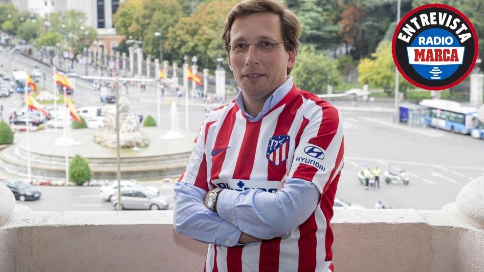 """Martínez-Almeida: """"Que el Atleti gane la Champions sería la alegría de mi vida"""""""