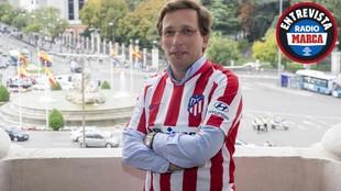 """Martínez-Almeida: """"Que el Atlético gane la Champions sería la alegría de mi vida"""""""