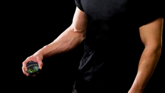 Powerball: así fortalecen sus brazos los astronautas y tenistas