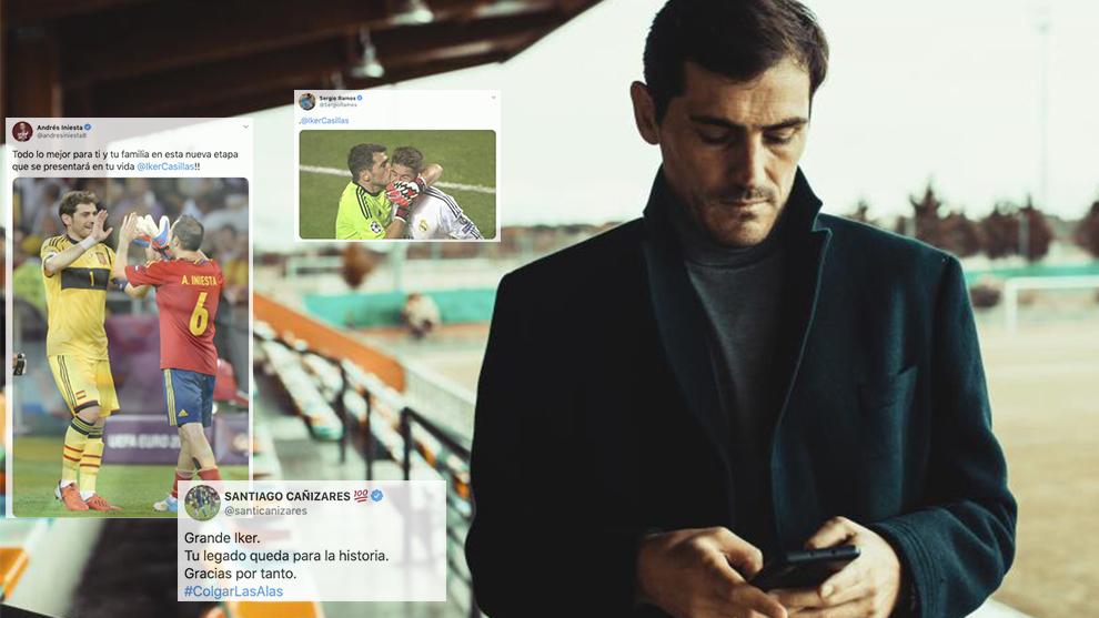 El guardameta Iker Casillas anuncia su retirada definitiva del fútbol