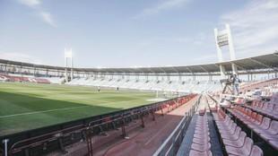 Se desinfectarán las instalaciones del Almería y el estadio Juegos...