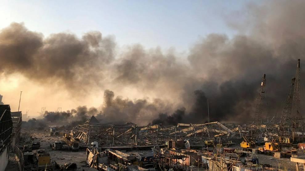Beirut: Líbano EN VIVO: Se registra una explosión masiva en la ...