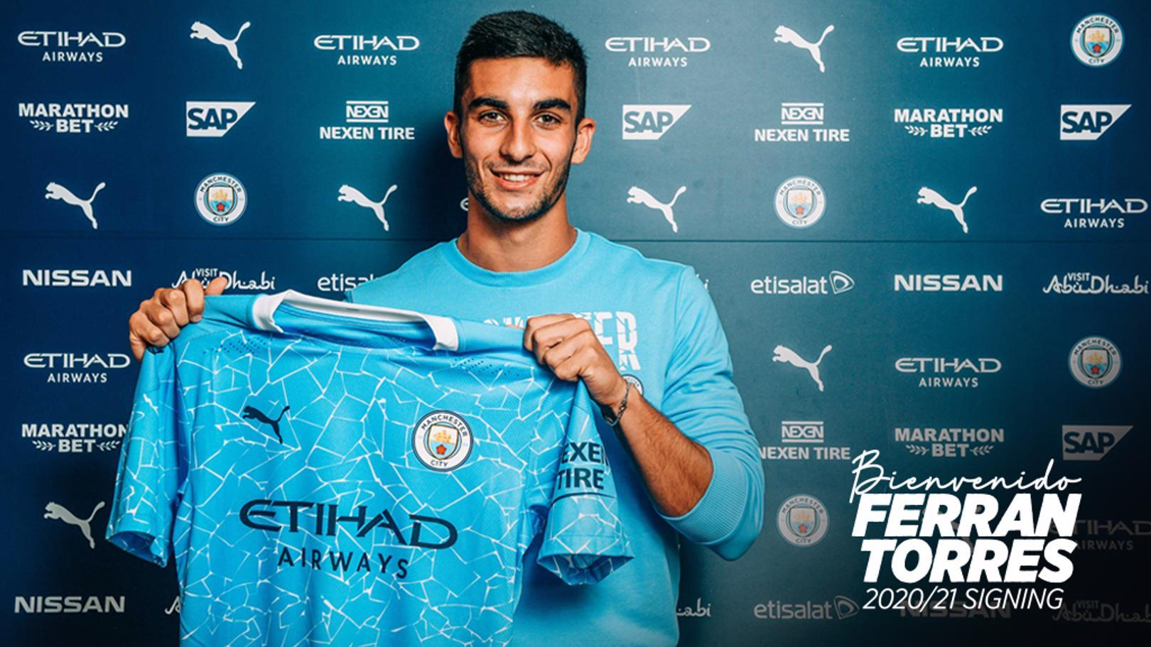 Official: Man City announce signing of Ferran Torres