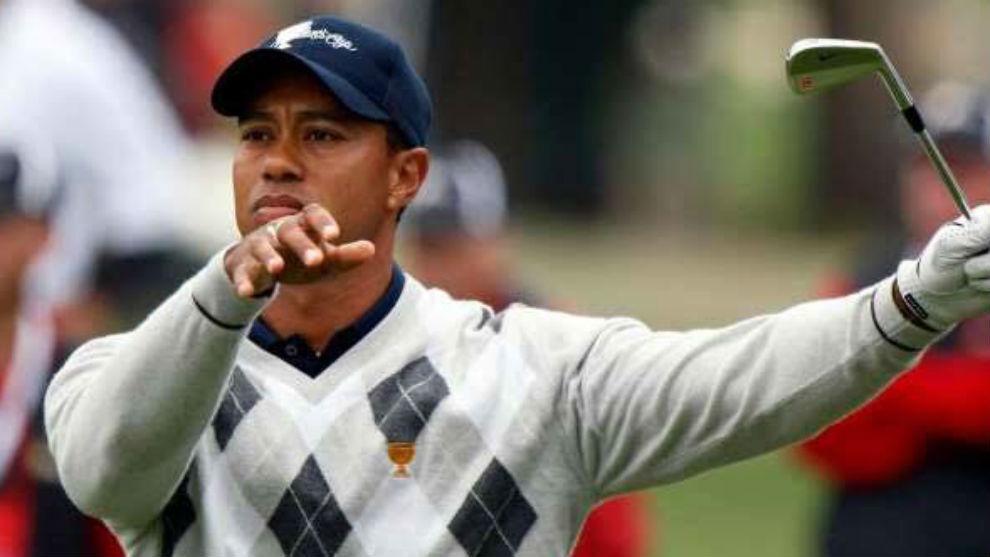 Tiger Woods, durante un torneo