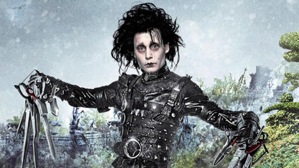 Johnny Depp dio vida a Eduardo Manostijeras