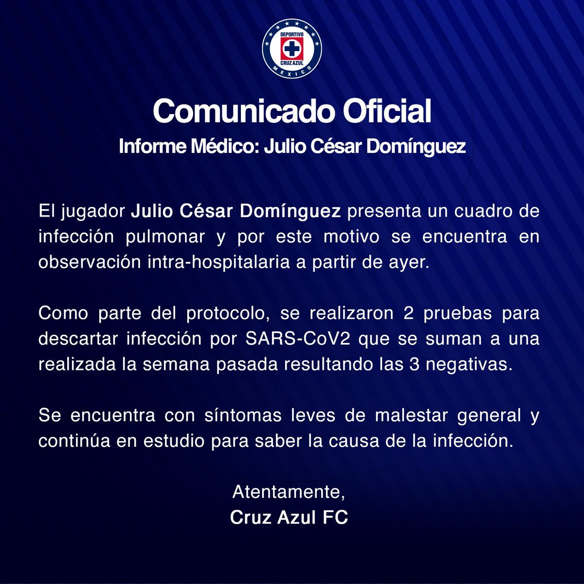 Ingresan a hospital al 'Cata' Domínguez por infección pulmonar