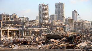Explosión de Beirut: 2.750 toneladas de nitrato de amonio, base para...