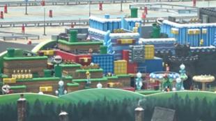 Espectaculares imágenes del futuro parque de atracciones de Nintendo.