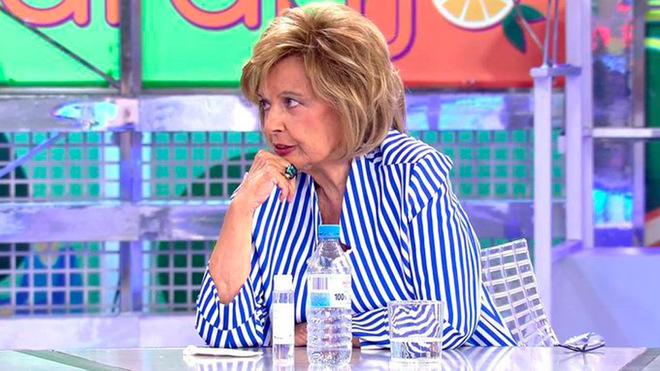 La popular periodista acudió a Telecinco para hablar sobre la...
