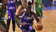 Sara Djassi, en su etapa en el Clarinos.
