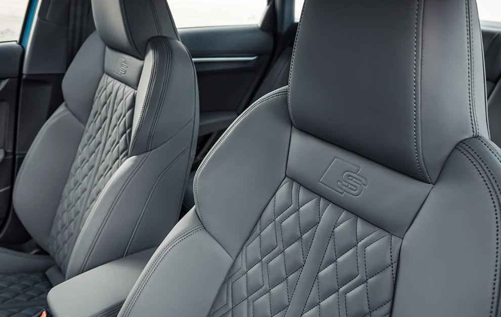 Los asientos deportivos tienen un diseño que atrae miradas.