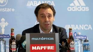 Felipe Miñambres, secretario técnico del Celta