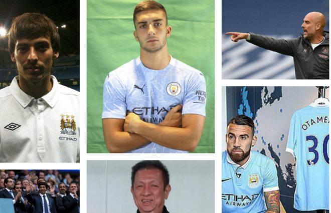 Silva, Ferran, Guardiola, A-Mansour, Lim y Otamendi.