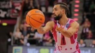 Joshiko Saibou, en un partido con el Telekom Baskets Bonn.