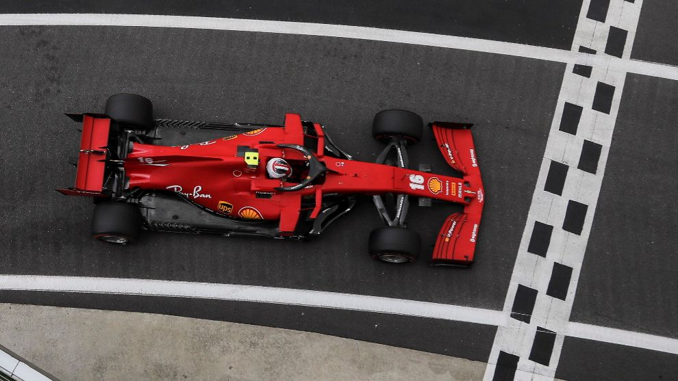 Leclerc ve difícil batir a los Mercedes este año.