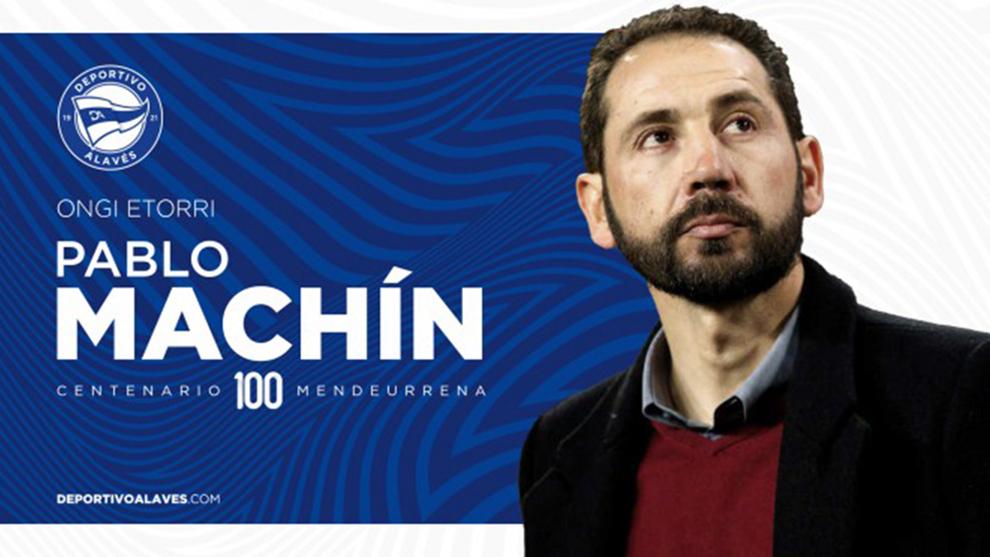 Pablo Machín, nuevo entrenador del Alavés