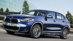 El BMW X2 xDrive25e es la versión híbrida enchufable del X2.
