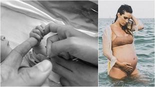Ona Carbonell, en dos fotos de su perfil de Instagram.