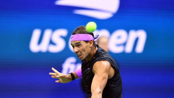Rafael Nadal, en la edición del US Open de 2019.