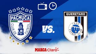 Pachuca vs Querétaro: Horario y dónde ver