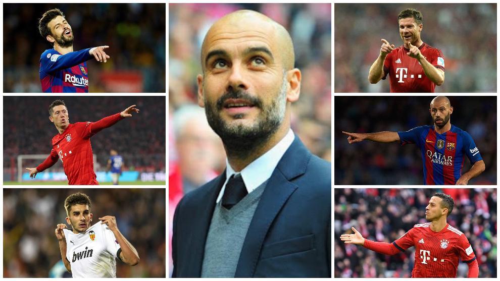 Guardiola, el 'cazador de gangas': Ferran, Piqué, Thiago, Lewandowski, Xabi Alonso, Kimmich...