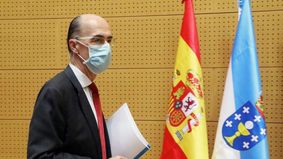 Jesús Vázquez Almuiña consejero de Sanidad de la Xunta de Galicia