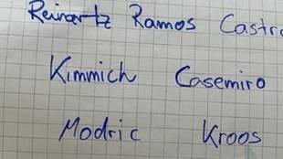 Kroos elabora el once con el que le gustaría despedirse del fútbol