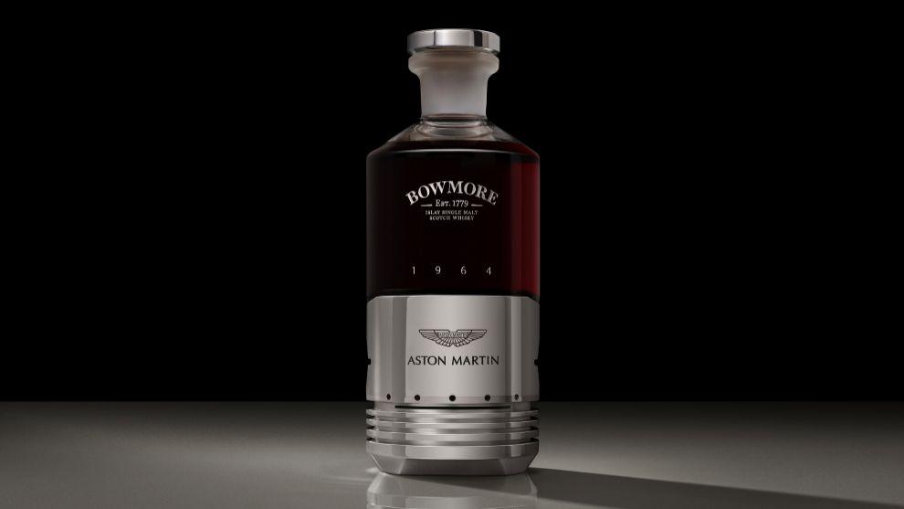 Nunca lo hubieses pensado: el pistón de un Aston Martin convertido en botella de whisky