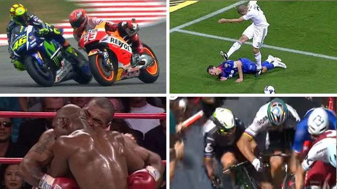 Groenewegen se une a la lista negra de 'agresores' del deporte: Tyson, Sagan, Rossi, Pepe, Schumacher, Artest...