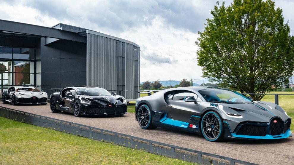 El Bugatti Divo es una evolución más dinámica y exclusiva del Chiron.