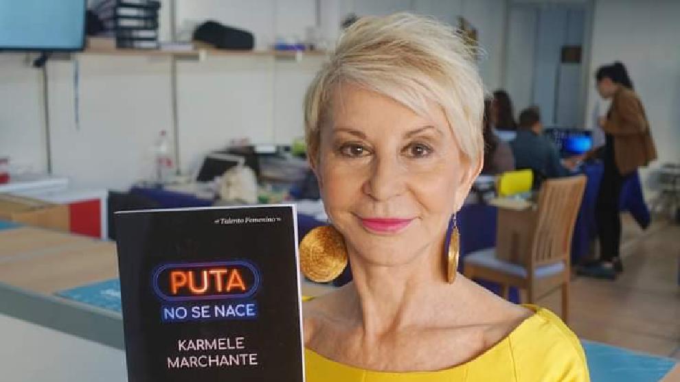 Karmele Marchante muestra su libro Puta no se nace