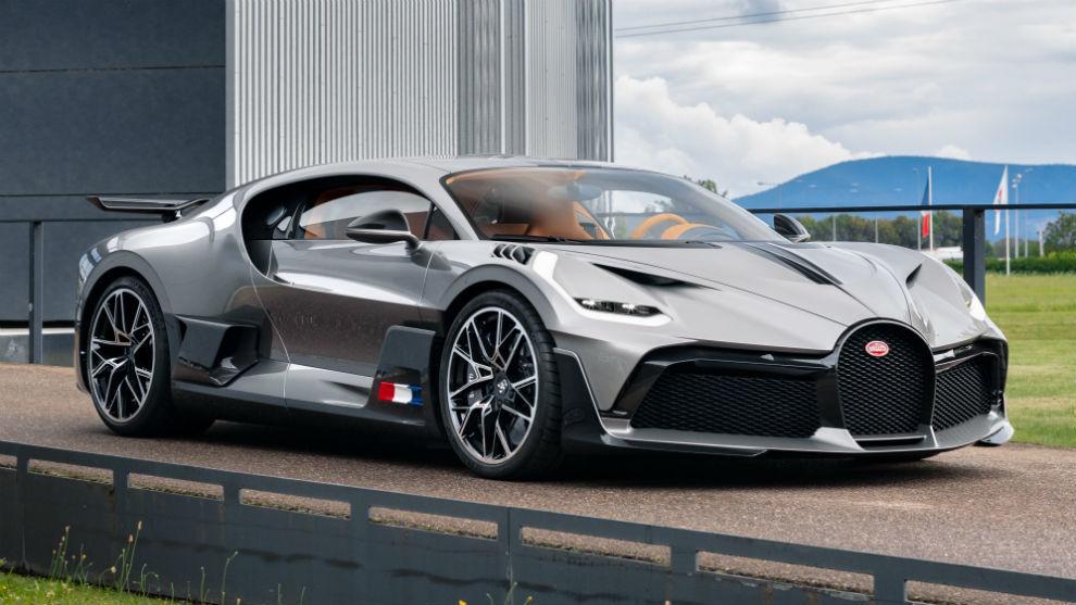 Sólo se fabricarán 40 unidades del Bugatti Divo.