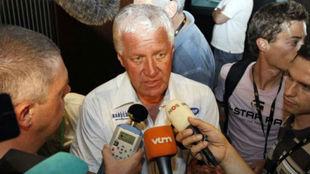 Patrick Lefevere, manager del Deceuninck Quick-Step.