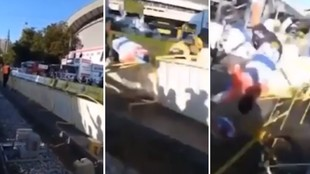 Otro durísimo vídeo de la caída de Jakobsen: ¡pierde el casco antes del brutal golpe!