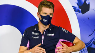 Nico Hulkenberg, durante la rueda de prensa previa al GP 70...