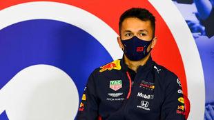 Alexander Albon, hoy en el circuito de Silverstone.