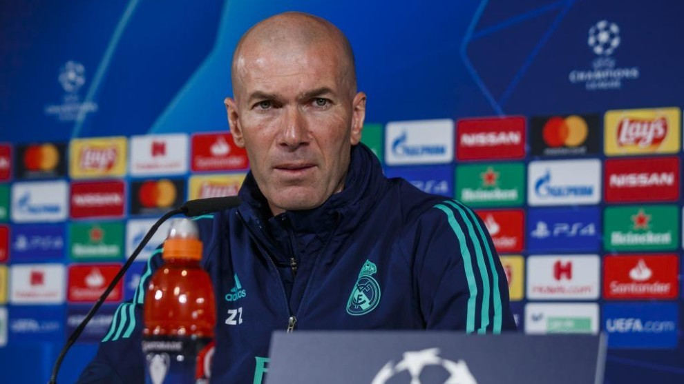 Zidane: Bale preferred not to play against Manchester City