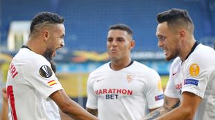 El Sevilla se lleva el duelo en Alemania.
