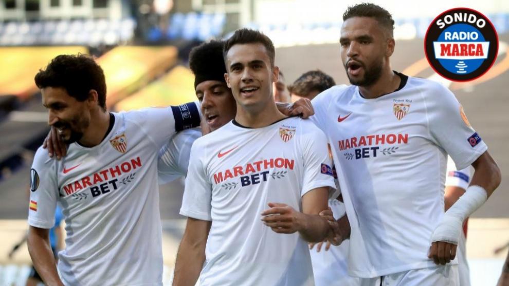 El Sevilla doblega a la Roma y se cuela en cuartos de final